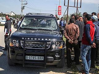 巴勒斯坦总理车队遭袭击