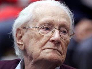 96岁纳粹战犯入狱前去世