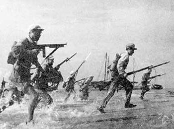 智库析解放军经典登陆战:迷惑牵制对手 不战而屈人之兵