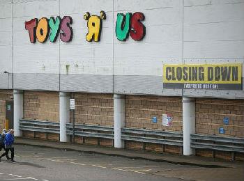 外媒:玩具反斗城拟关闭全美门店 3万余人面临失业威胁