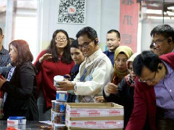 印尼部长团探访浙江淘宝村 为印尼电商业寻求普惠发展之路