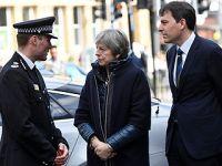 英首相特雷莎·梅访问索尔兹伯里市