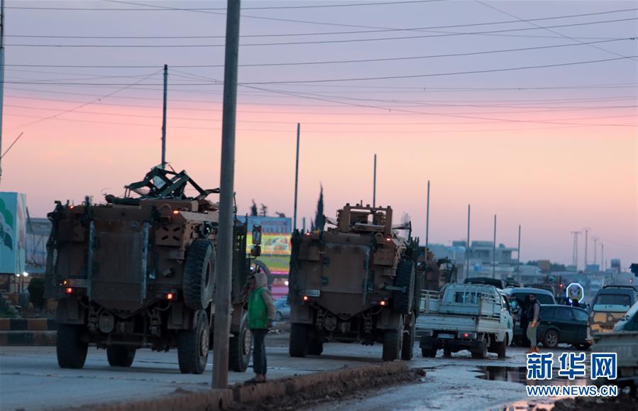 土耳其称已控制叙利亚阿夫林大部分地区