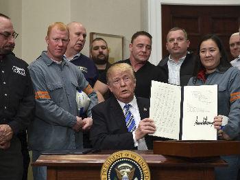"""美国企业界警告政府勿对华挑起贸易战  称""""后果严重"""""""