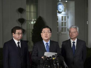 特朗普威胁要从韩撤军 美媒:传递