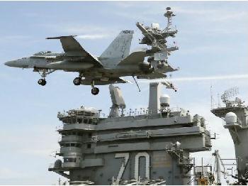 """外媒关注美航母先访菲越再与日本军演:意在""""威慑中国"""""""