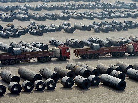 外媒:印度考虑就美国提高钢铝税向世贸组织上诉