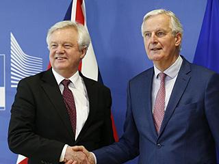 """欧盟与英国就""""脱欧""""过渡期协议大部分条款达成一致"""
