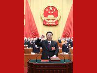 习近平当选国家主席中央军委主席