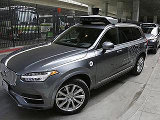 美国自动驾驶汽车