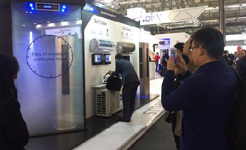 出海记 海尔获评全球互联空调第一品牌 连续两年居首