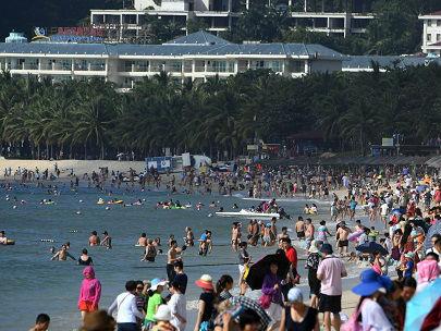 """日媒关注海南旅游业增长:""""中国夏威夷""""将迎来大发展"""