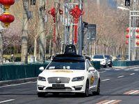 北京市自动驾驶测试车辆正式上路测试