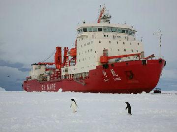 """港媒:中国南极科考获气候变化""""源代码"""""""