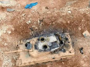 """击毁豹2难挡土军?叙库尔德武装或获美俄竞相""""庇护"""""""