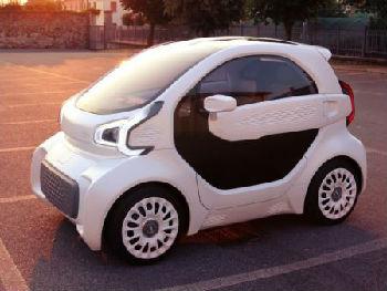 港媒:3D打印电动车将在华量产 售价6万最大时速70公里