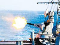 火舌喷涌!东海舰队驱逐舰7昼夜实训