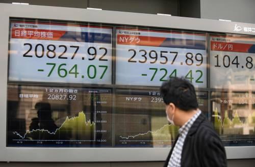 担忧贸易战重演 全球股指普遍暴跌