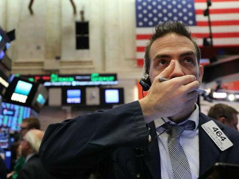"""外媒:中美贸易战担忧引全球股市大跌 美股遭""""黑色一星期"""""""