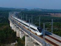"""世界首条环岛高铁""""腾飞""""海南"""