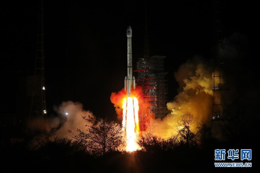 中国再次成功发射两颗北斗三号卫星