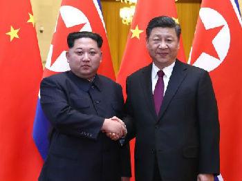 朝媒超常规报道金正恩访华 强调继承发展中朝传统友谊