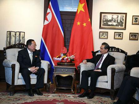王毅会见朝鲜外务相李勇浩引发外媒关注