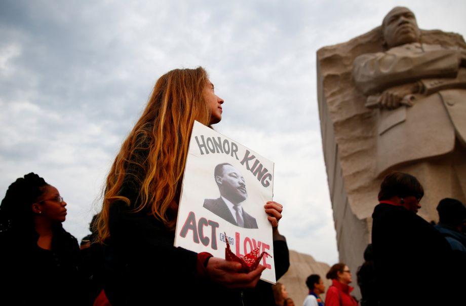 美国纪念马丁·路德·金遇刺50周年