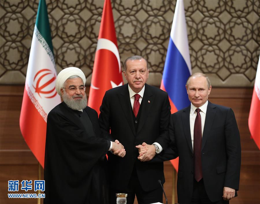 土俄伊就政治解决叙利亚问题达成共识