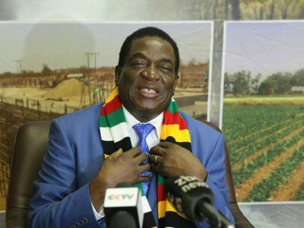 """外媒:津巴布韦总统访华巩固""""全天候友谊"""""""