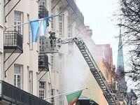 三国驻瑞典使馆所在大楼起火