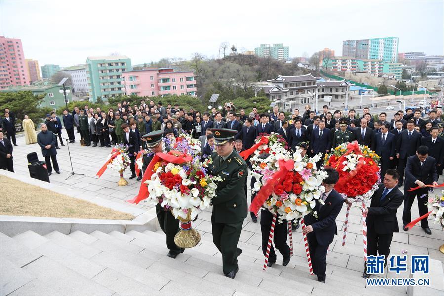 部分中国驻外使馆举行清明祭扫活动