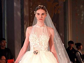 时尚婚纱礼服秀在天津举行