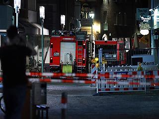 德国一小型货车冲撞人群造成多人死伤
