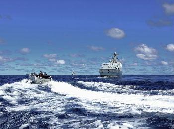 港媒:中国海军测试舰载攻击型无人机