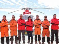 记中国第34次南极科考队直升机机组