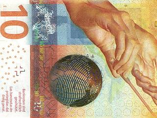 瑞士法郎当选最美纸币