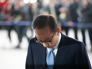 韩国检方以受贿等罪名起诉前总统李明博