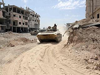 叙政府否认在东古塔地区使用化学武器