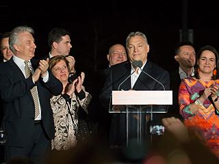 匈牙利执政联盟在国会选举中获胜