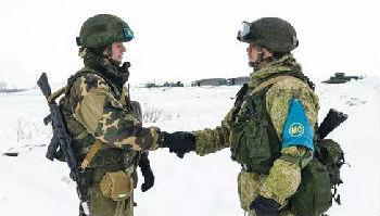 军情锐评:斯拉夫兄弟抗北约拒恐袭?俄白精锐军演示军威