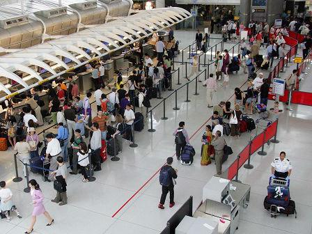 美媒:中印机场太忙碌 肯尼迪机场被挤出最繁忙机场前20