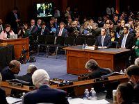 美国华盛顿国会山:扎克伯格出席听证会