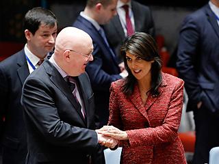 安理会未通过叙化武袭击相关决议草案
