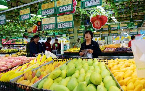 英媒:中国3月物价同比涨幅回落 中美贸易摩擦影响待观察