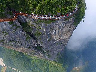外媒惊叹空中俯瞰中国太美