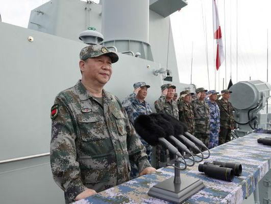 境外媒体:习近平南海大阅兵意味深长