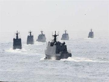 蔡英文今登舰视察台海军 台媒:一颗实弹也没有
