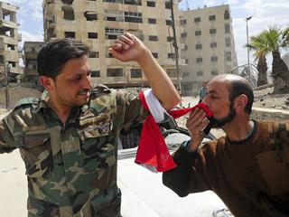 叙利亚军方宣布全面收复东古塔地区