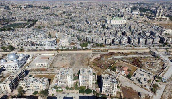 图为叙利亚首都大马士革街景